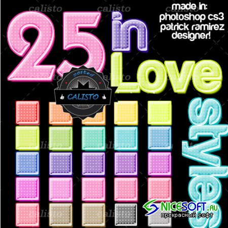 25 Love Styles for Photoshop (REUPLOAD)
