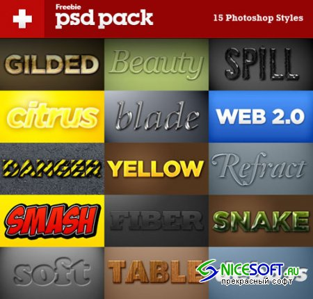 15 Incredible Styles for Photoshop