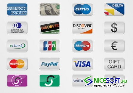 Icons - 20 Payment Option