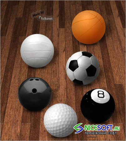 Icons - Sport Balls Pack